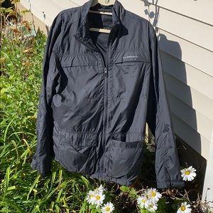 Oakley mens windbreaker XL jacket black